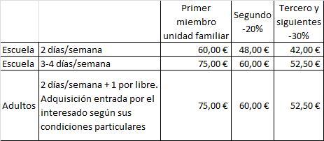 CUOTAS ESCUELA 1718