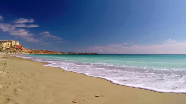 Пляжи Испании, Orihuela Costa 2016, Playa Flamenca Beach, Campoamor, Средиземное море, Cala Mosca, Cala las Estacas http://espana-live.com/playa-flamenca-spain.html